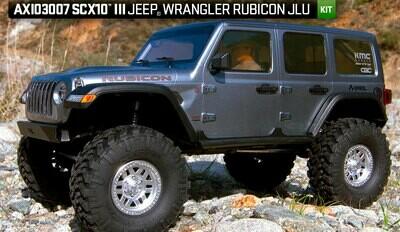 SCX10 III Jeep JLU Wrangler w/Portals 1/10th KIT