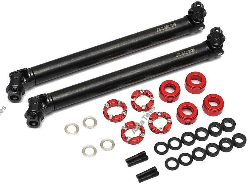 Boom Racing BADASS™ HD Steel Center Drive Shaft Set for Gmade GOM Front & Rear (2) [Recon G6 Certified] for Gmade GOM