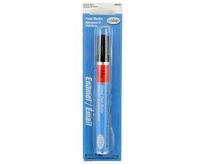 Testors Gloss Enamel Paint Marker (Red) (10ml)