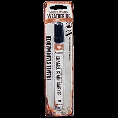 Enamel Stain Weathering Marker. Rust