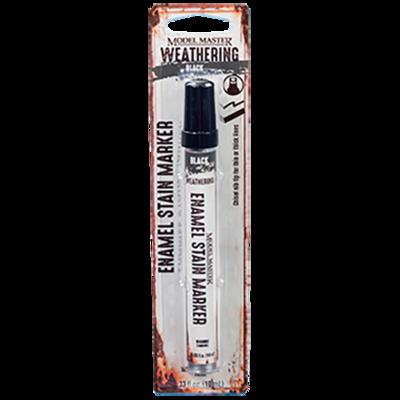 Enamel Stain Weathering Marker. Black