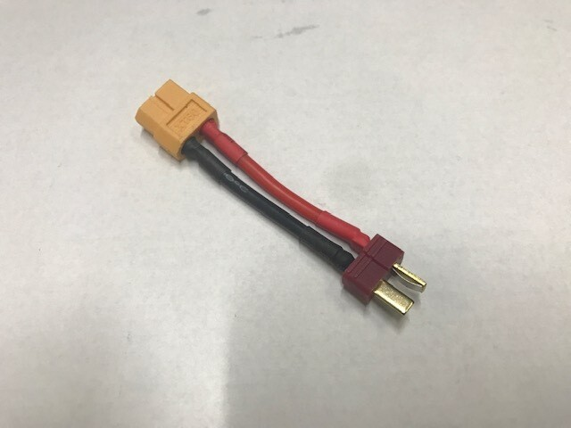 Crawl Space Deans to XT60 Adapter (Male Deans to Female XT60)