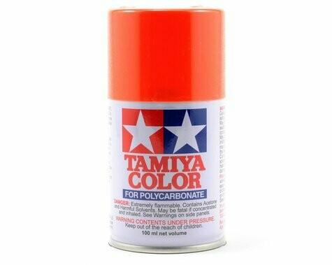 Tamiya PS-7 Orange Lexan Spray Paint (3oz)