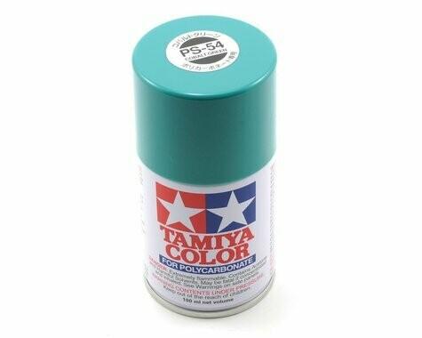 Tamiya PS-54 Cobalt Green Lexan Spray Paint (3oz)