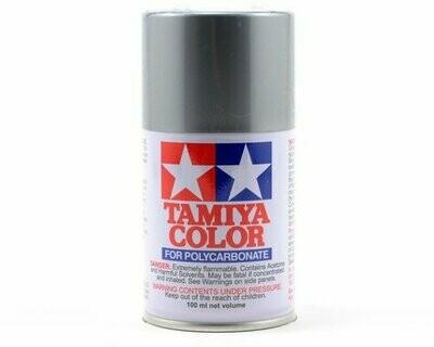 Tamiya PS-12 Silver Lexan Spray Paint (3oz)