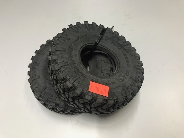 Axial Trail Grappler tires. Pair, new out of package