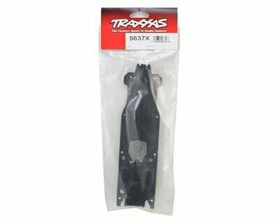 Traxxas E-Revo VXL 2.0 Nylon Transmission Skidplate Cover (Black)