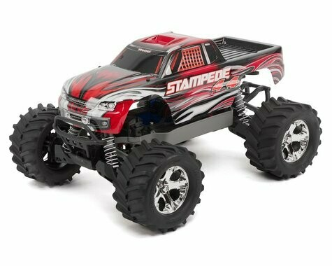 Traxxas Stampede 4X4 LCG 1/10 RTR Monster Truck (Red) w/XL-5 ESC, TQ 2.4GHz, Battery & Charger
