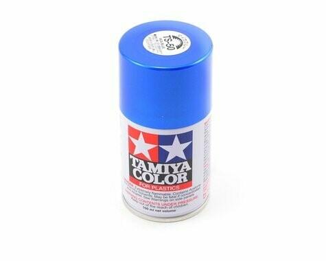 Tamiya TS-50 Blue Mica Lacquer Spray Paint (100ml)