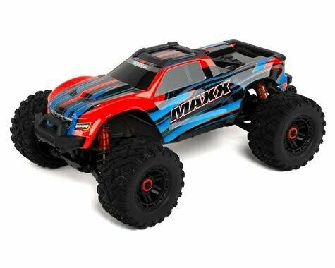 Traxxas Maxx 1/10 Brushless RTR 4WD Monster Truck (Red) w/TQi 2.4GHz Radio & TSM