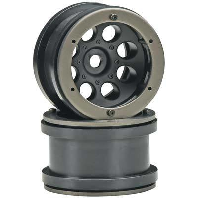 Axial 2.2 8-Hole Beadlock Black (2)
