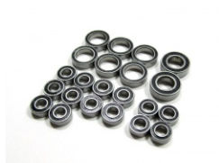 Boom Racing High Performance Full Ball Bearings Set Rubber Sealed (22 Total) for Axial AX10 Scorpion