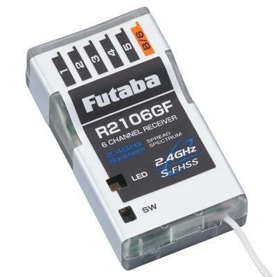 Futaba R2106GF 2.4GHz FHSS 6-Channel Micro Receiver