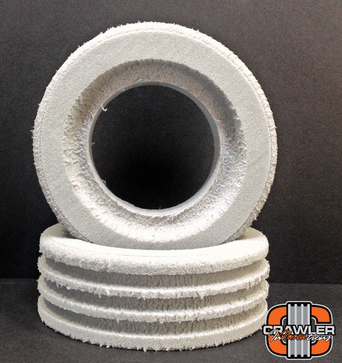 """DEUCE'S WILD SINGLE STAGE FOR 1.9 TIRES; 4.40""""- 4.0"""" TALL FOAM PAIR (2)"""