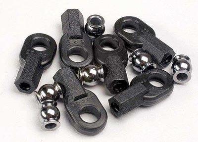 Traxxas Rod ends, long (6)/ hollow ball connectors (6)