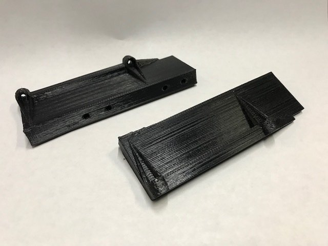 Comp Spec Mojave body mounts for stock SCX10 chassis