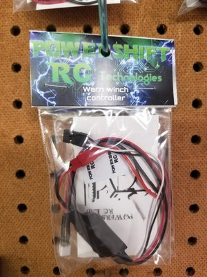 Powershift RC High Voltage Warn™ winch controller