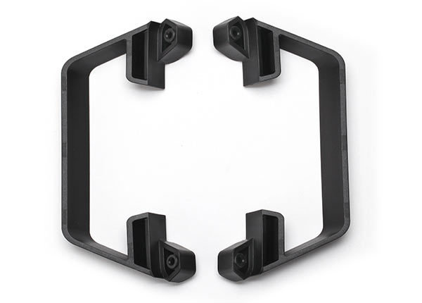 Traxxas Nerf bars, low CG (black)