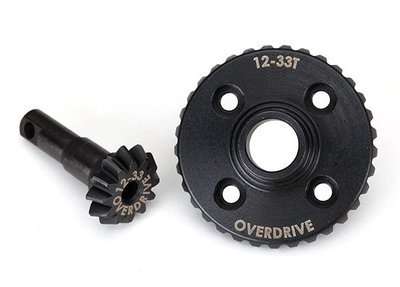 Traxxas Ring gear, differential/ pinion gear, differential (overdrive, machined)