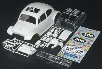Tamiya Sand Scorcher 2010 White Body Set