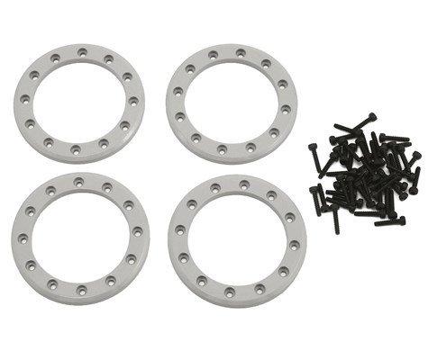"Traxxas Aluminum 1.9"" Beadlock Rings (Satin) (4)"