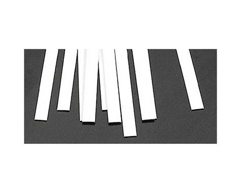 Plastruct MS-325 Rect Strip, Styrene .030x.250 (10)