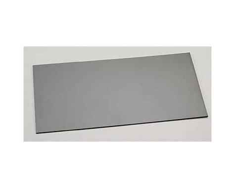 "Evergreen Scale Models Black Styrene Sheets, .04x6x12"""