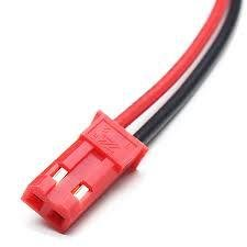 JST Male Connector Leads (2)