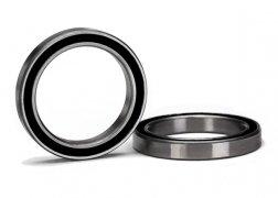 Traxxas Ball bearing, black rubber sealed (20x27x4mm) (2)