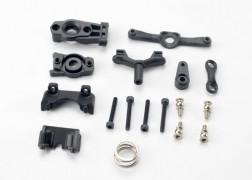 Traxxas Steering arm (upper & lower)/ steering link/ servo horn/ servo saver/ servo saver spring/ servo horn mount/ ball stud (2)/ shock mounts, front & rear/ 2.5x18mm CS (4)