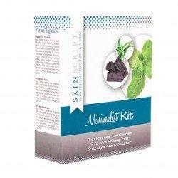 Minimalist Kit (Charcoal Cleanser, Mint Toner & Light Aloe