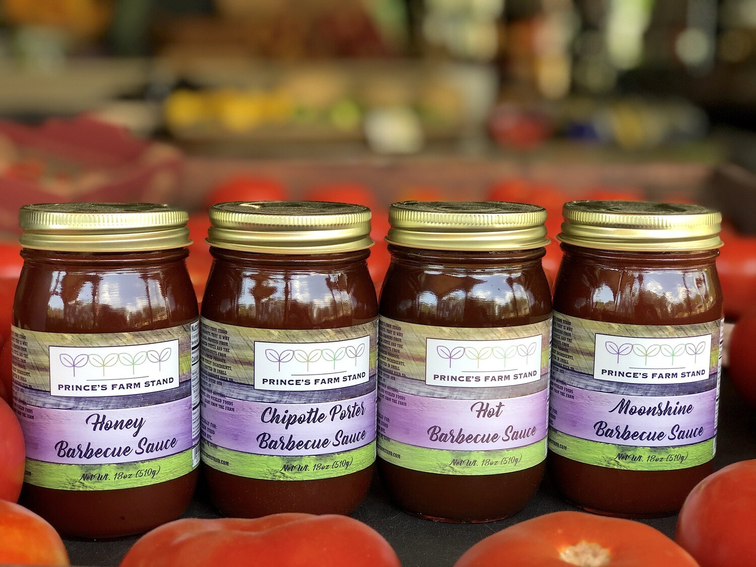 Prince's Farm Stand Barbecue (BBQ) Sauces (Assorted Varieties)
