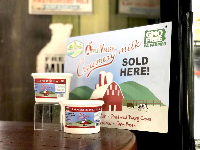 Apple Valley Creamery Farm-Fresh Salted Butter
