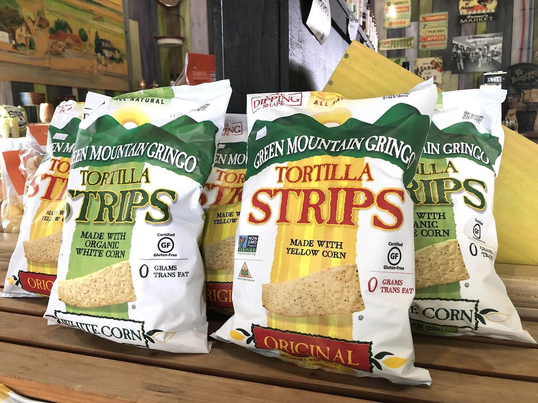 Green Mountain Gringo Tortilla Chips (GF, GMO Free, O) (Assorted Varieties)
