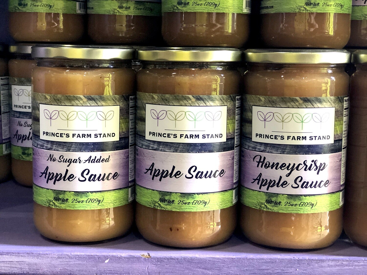 Prince's Farm Stand Apple Sauces