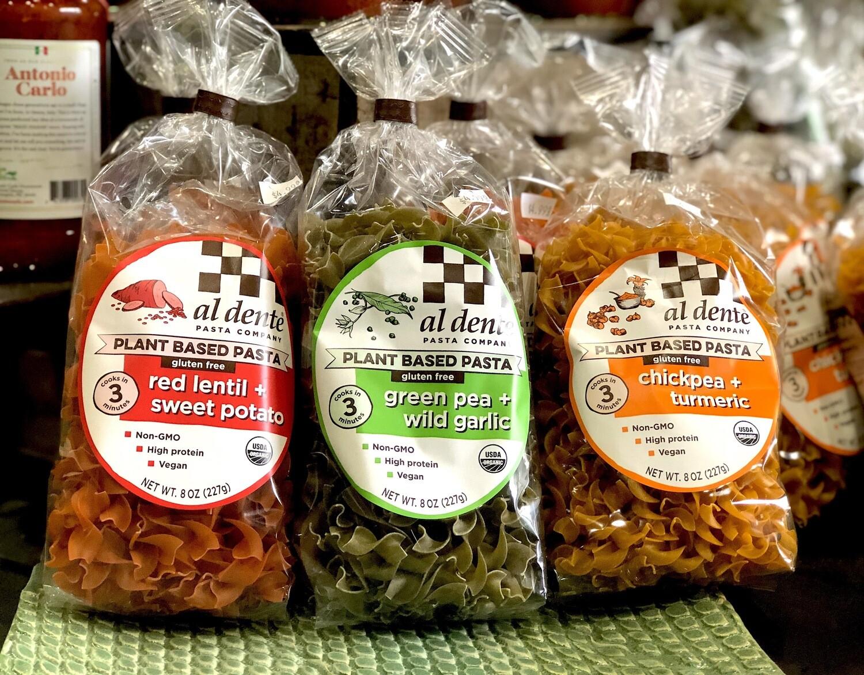Al Dente Pasta Company Plant-Based Pasta (GF, GMO Free, O, PB, V) (Assorted Varieties)