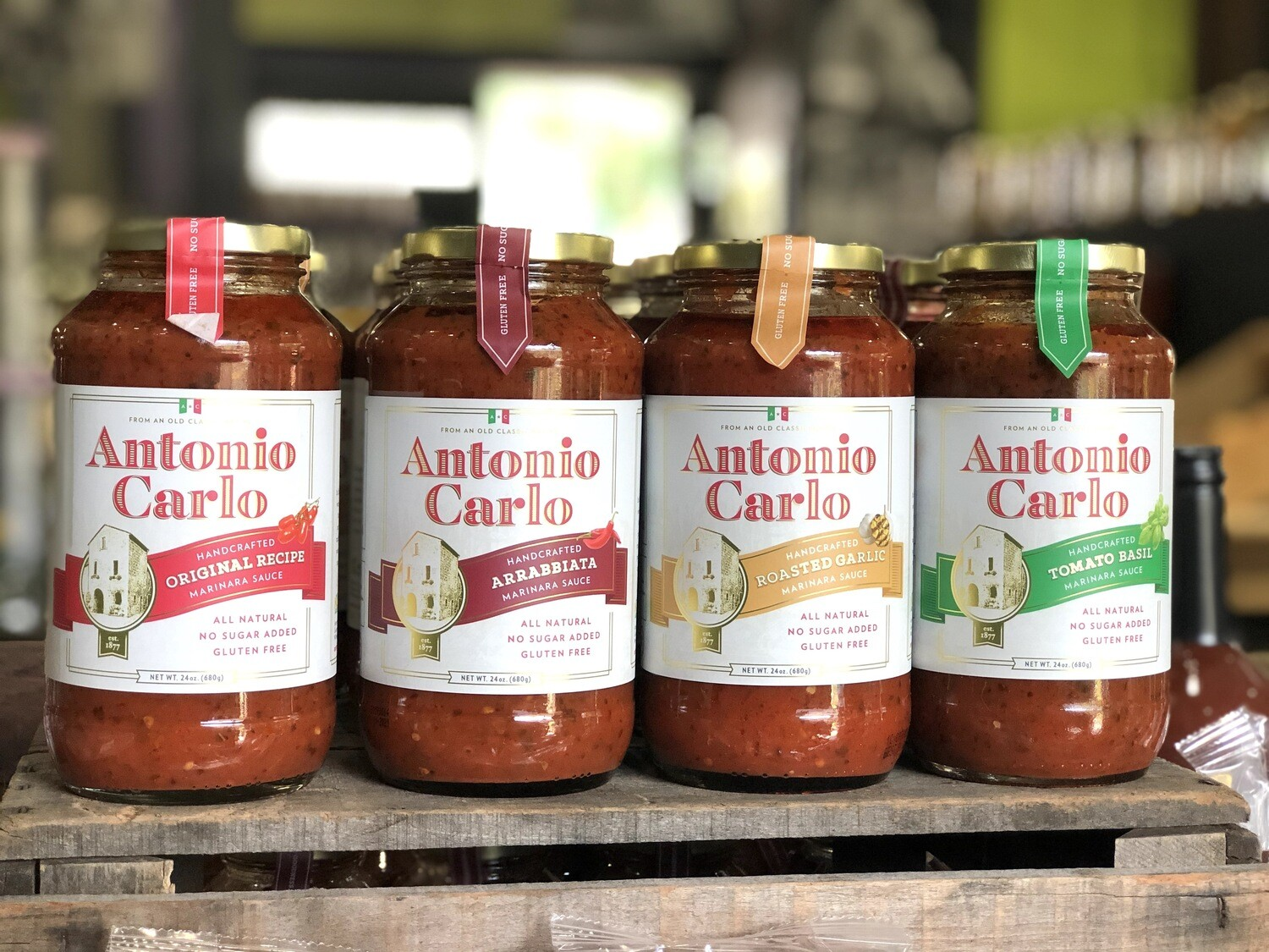 Antonio Carlo All Natural, Handcrafted Marinara Sauces (GF)