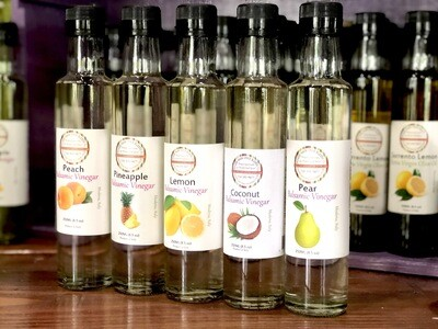 Wicked Good Spice Blends Co. Infused Balsamic Vinegars (Assorted Varieties in Dark and White)