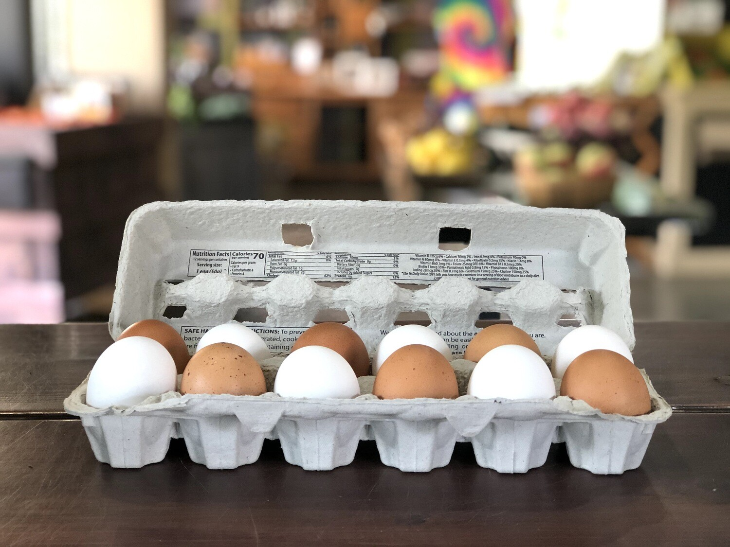 Skeet's Chix Farm-Fresh Eggs (from Hillview Farms)