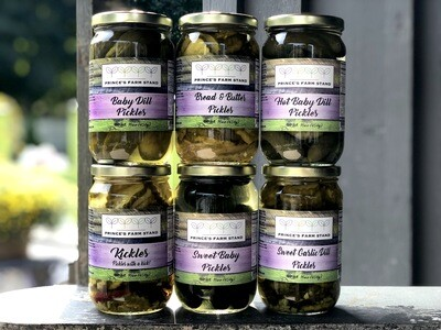 Prince's Farm Stand Cucumber Pickles