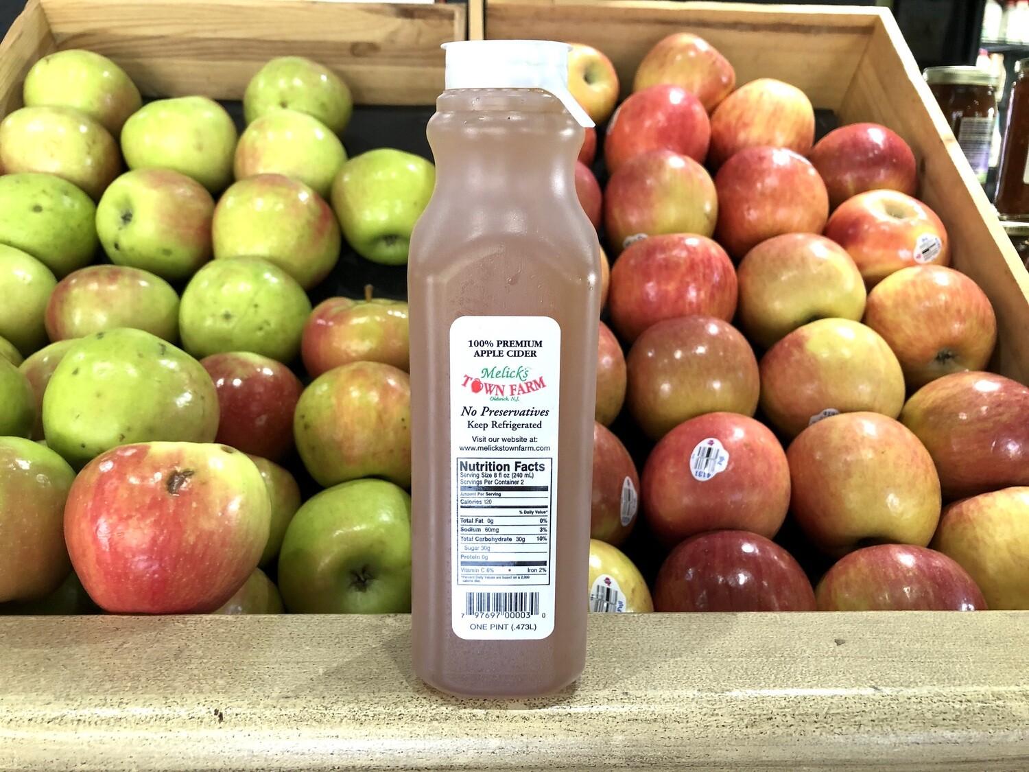 Melick's Town Farm Apple Cider (3 Sizes) (Local NJ)