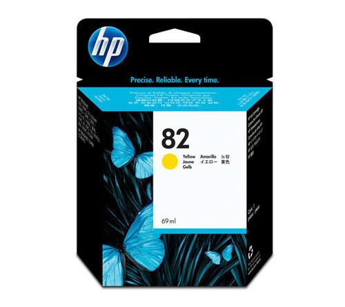HP 82 Ink Cartridge, Yellow