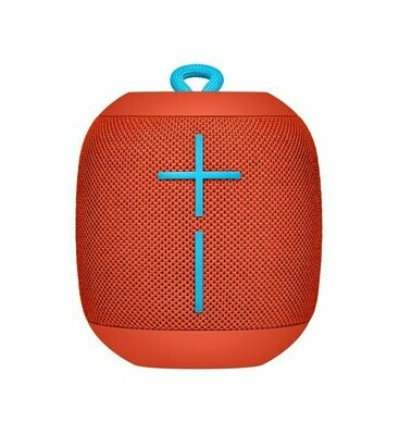 Ultimate Ears Wonder boom Portable Bluetooth Speakers, Red