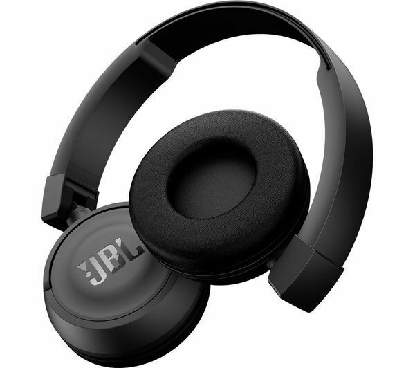 JBL T460BT Wireless Bluetooth On-Ear Headphones, Black