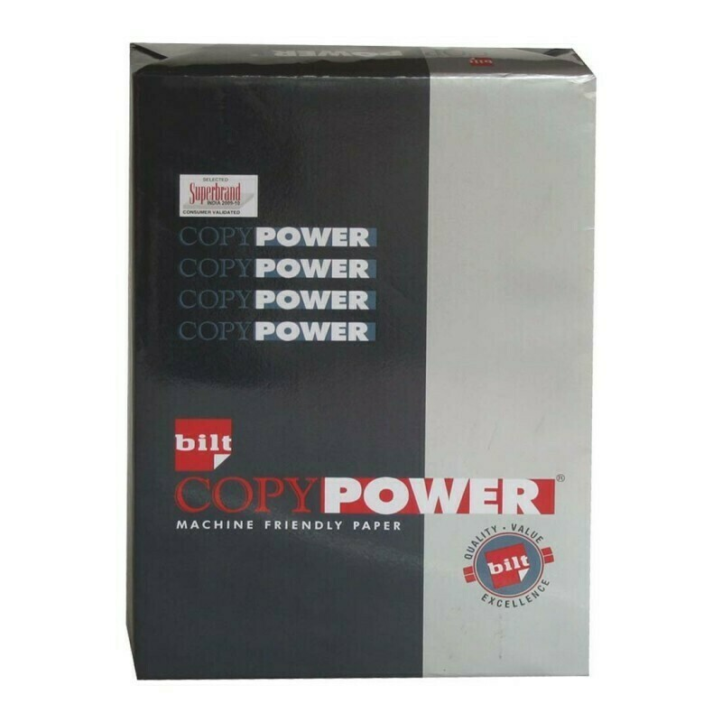 Bilt Copy Power Paper, A4, 75 GSM, 500 Sheets, 1 Ream