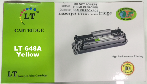 LT CE262A 648A Yellow Toner Cartridge