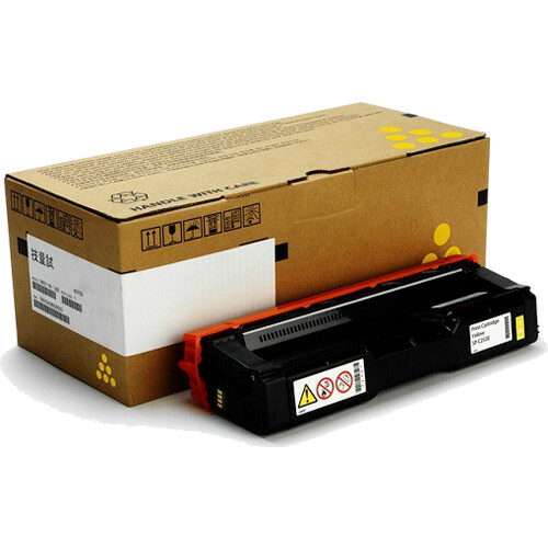 Ricoh SP C252 DN / SP C252SF Yellow Toner Cartridge