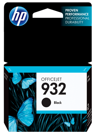 HP 932 Ink Cartridge, Black