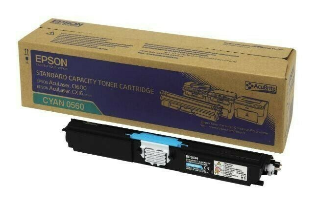 Epson 0560 C1600 & CX16 Cyan Toner Cartridge