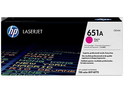HP CE343A 651A Magenta Toner Cartridge